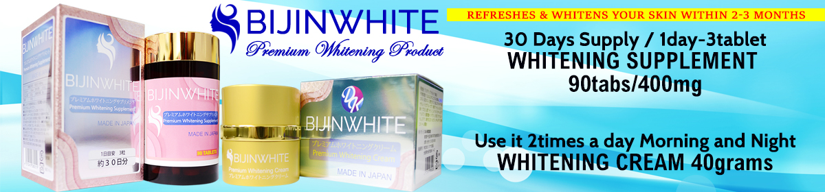 BijinWhite Premium Whitening Products