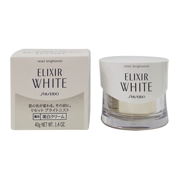 エリクシール ホワイト リセット ブライト二スト クリーム<薬用美白ジェルクリーム> 40g