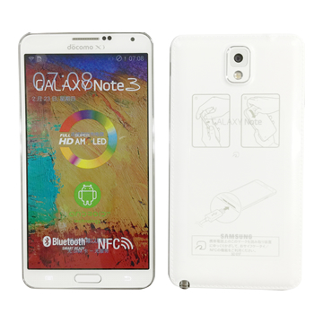 GALAXY NOTE 3 SC-01F (white)